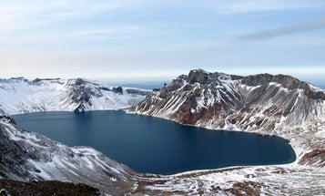 Western Scientists Peek Inside North Korean Volcano In Historic Collaboration