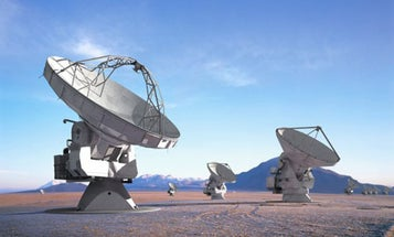 ALMA Telescope Takes Its First Sub-Millimeter Measurements of Space