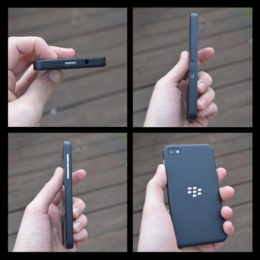 BlackBerry Z10 From The Sides/Back