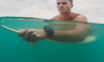 This Wristband Repels Sharks