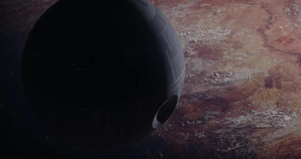 The Death Star in Rogue One
