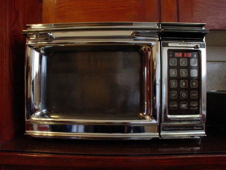In The Future, Your Microwave Oven Could Be Small Enough To Travel