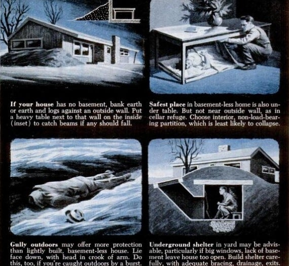 How to survive if you don't have a basement, 1951