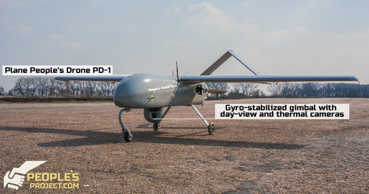 You Can Crowdfund A Scout Drone For Ukraine's Army
