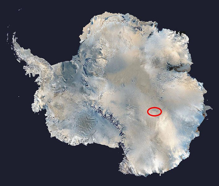 Antarctica's Frozen Lake Vostok, Isolated for 20 Million Years, Breached By Russian Drills