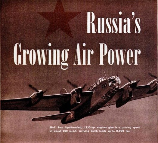 Archive Gallery: PopSci Spies on the Soviet Union