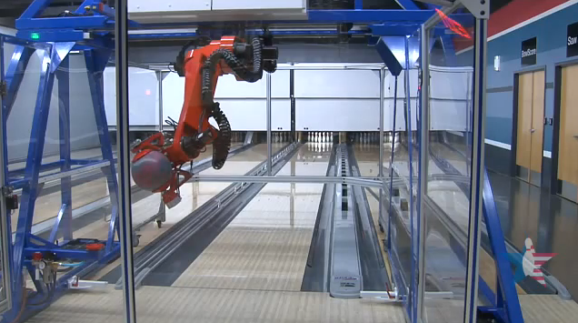 Video: Incredibly Precise Robot Bowler Gets Beaten by Professional Human Bowler