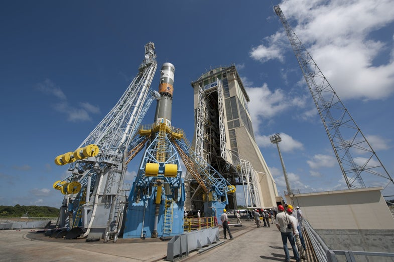 European Alternative to GPS Lifts Off Tomorrow From South America, Via Russian Rocket