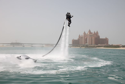 Just In Time For Spring Break, Water-Powered Jetpack Finally Goes On Sale