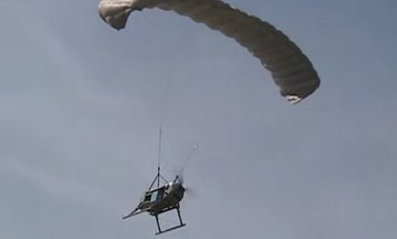 Rugged Paragliding Drone Provides Supplies In Face Of Danger