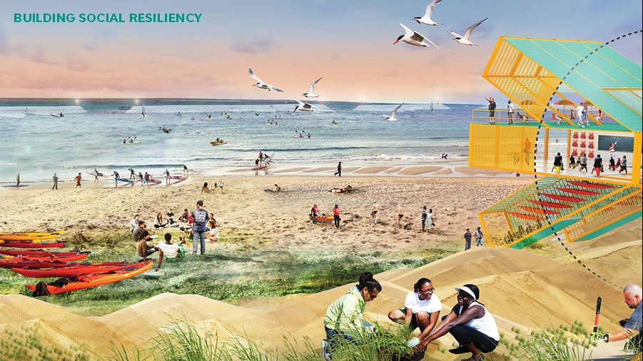Designed Like We Give A Dam: New Proposals To Protect New York Coastal Communities