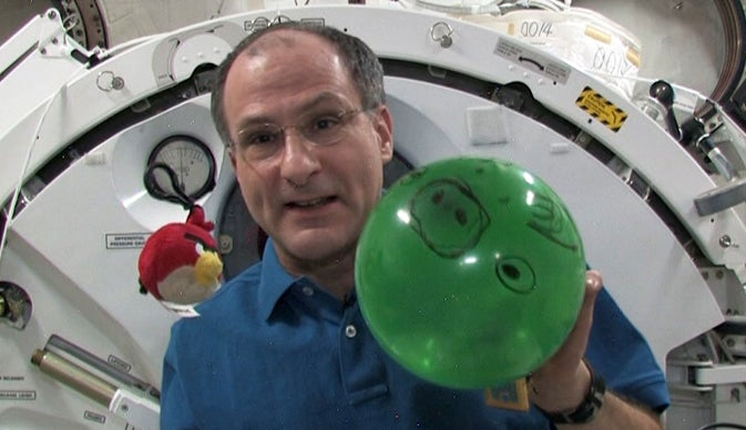 Astronaut Don Pettit Creates the First Mailing Address in Space