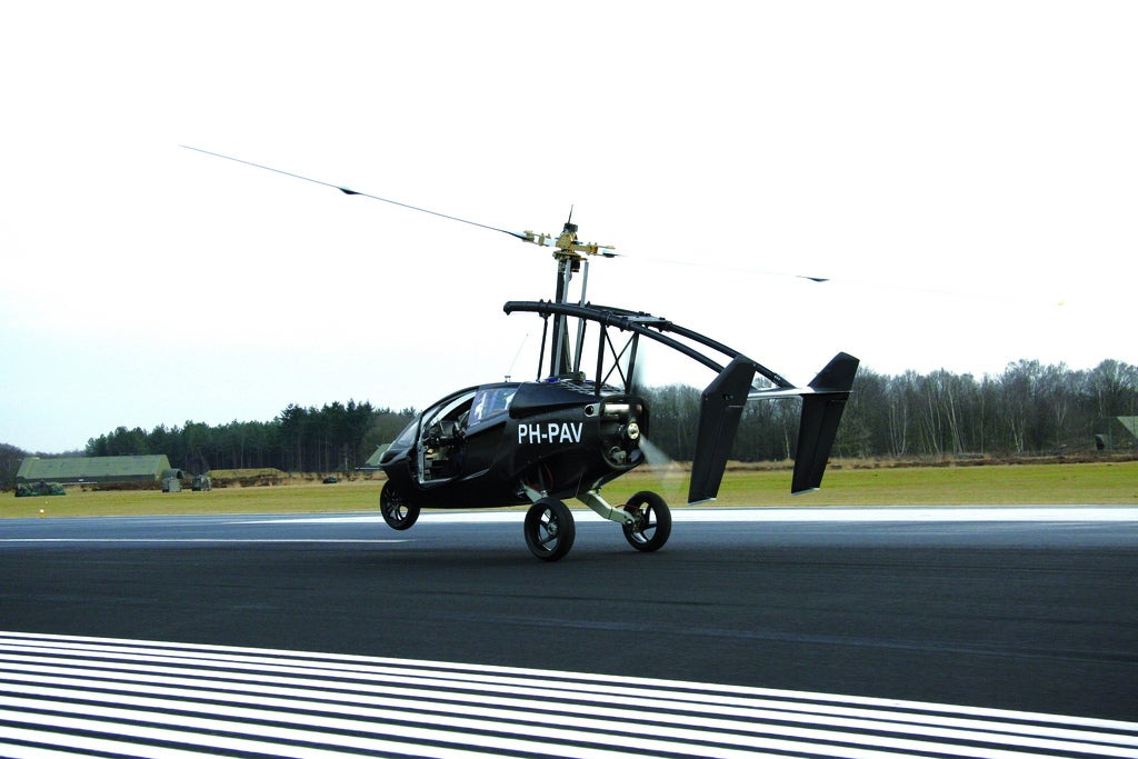 Video: Flying Car (or Driving Autogyro) Completes First Flight Tests