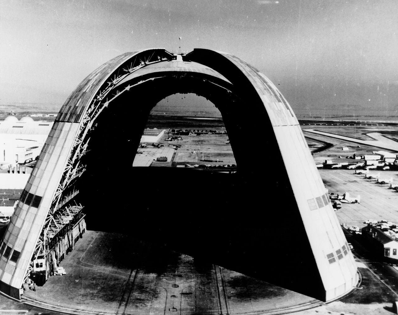 Google Takes Over Airship Hangars In California