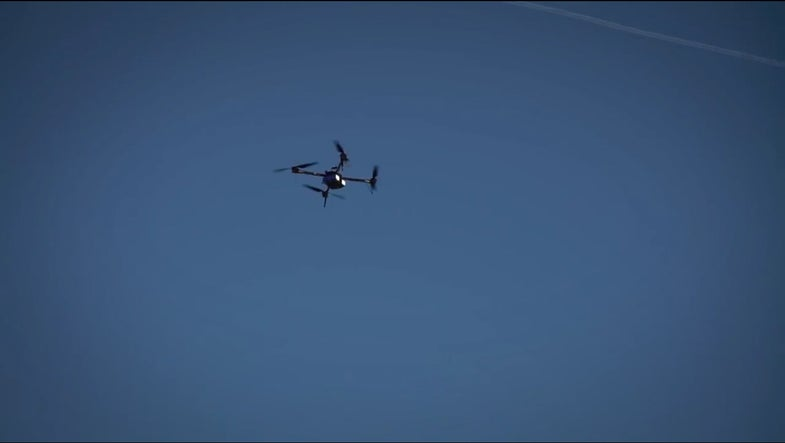 Pilots Claim Their Drone Is First To Cross The English Channel
