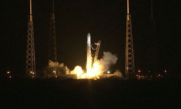 Video: SpaceX's Dragon Capsule Blasts Toward Space Station