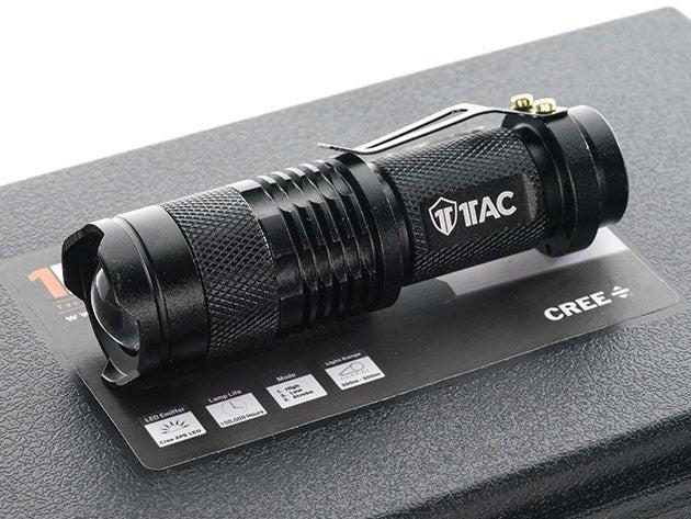 1TAC TC800 Tactical Flashlight Kit