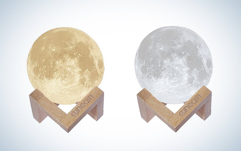 Kungken Rechargeable 3D Printing Moon Lamp