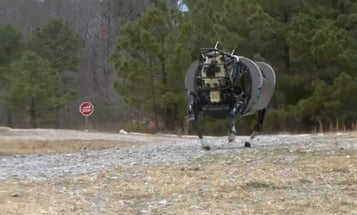 BigDog Robot Learns To Obey Voice Commands, Follow, Roll Over