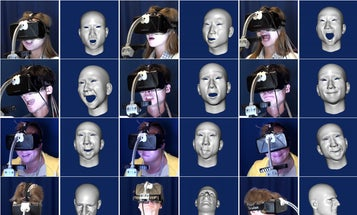 Sensors Capture The Faces You Make Inside Your VR Mask