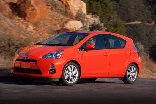 Test Drive: The 2012 Toyota Prius C