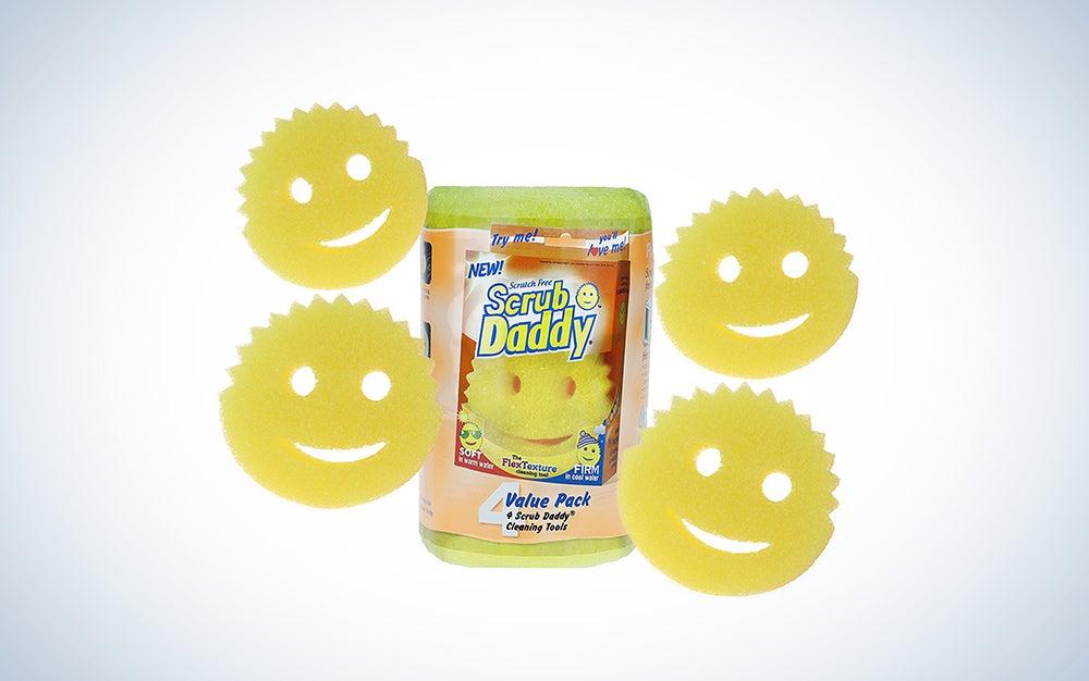 Scrub Daddy Smile Sponge