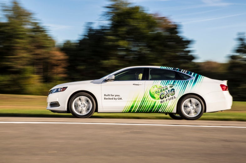 You Can Gas Up Your Car With Garbage, If It's The 2015 Chevrolet Impala Bi-Fuel