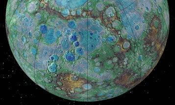 Photos Suggest Mercury Is Actively Shrinking