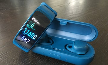 Samsung's Wireless Earbuds and Smartwatch Let You Leave The Phone Behind