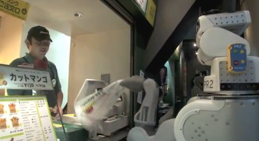 Video: With Semantic Search, PR2 Robot Can Plan Its Own Sandwich-Hunting Mission