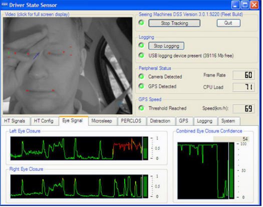 How Tracking The Faces Of Sleepy Truck Drivers Could Save Your Life