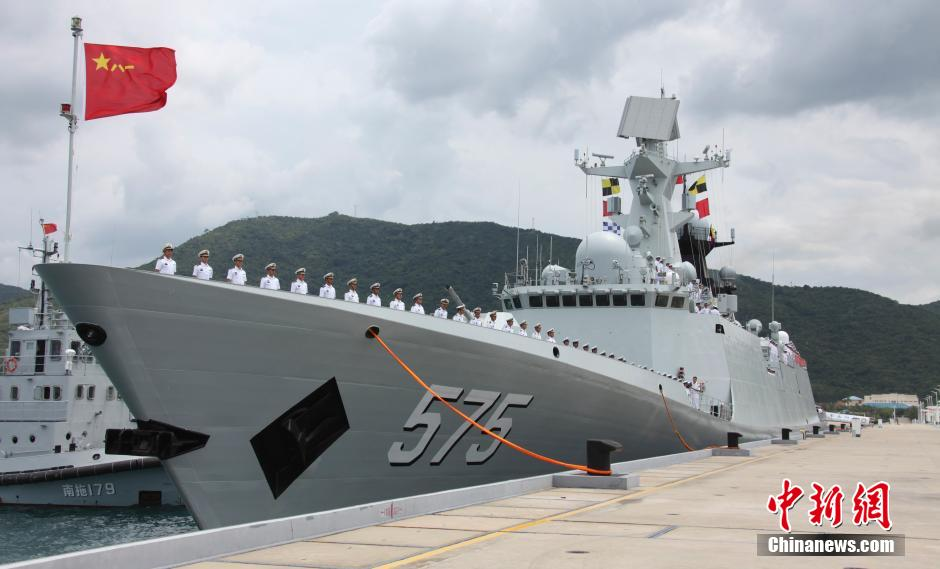 China's Navy Heads for Hawaii (for RIMPAC exercise)