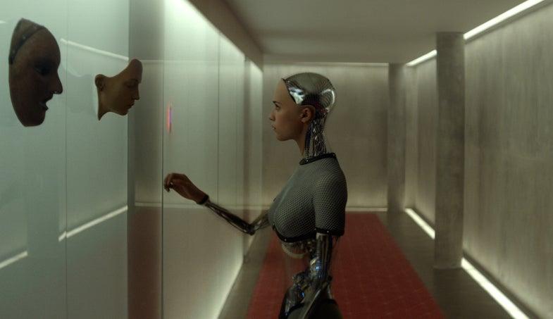 Writer/Director Alex Garland Discusses His Latest AI-Inspired Film 'Ex Machina'