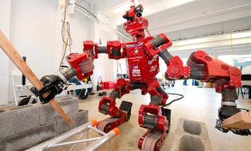 Meet Chimp, A Disaster Response Robot With Four-Limb Drive