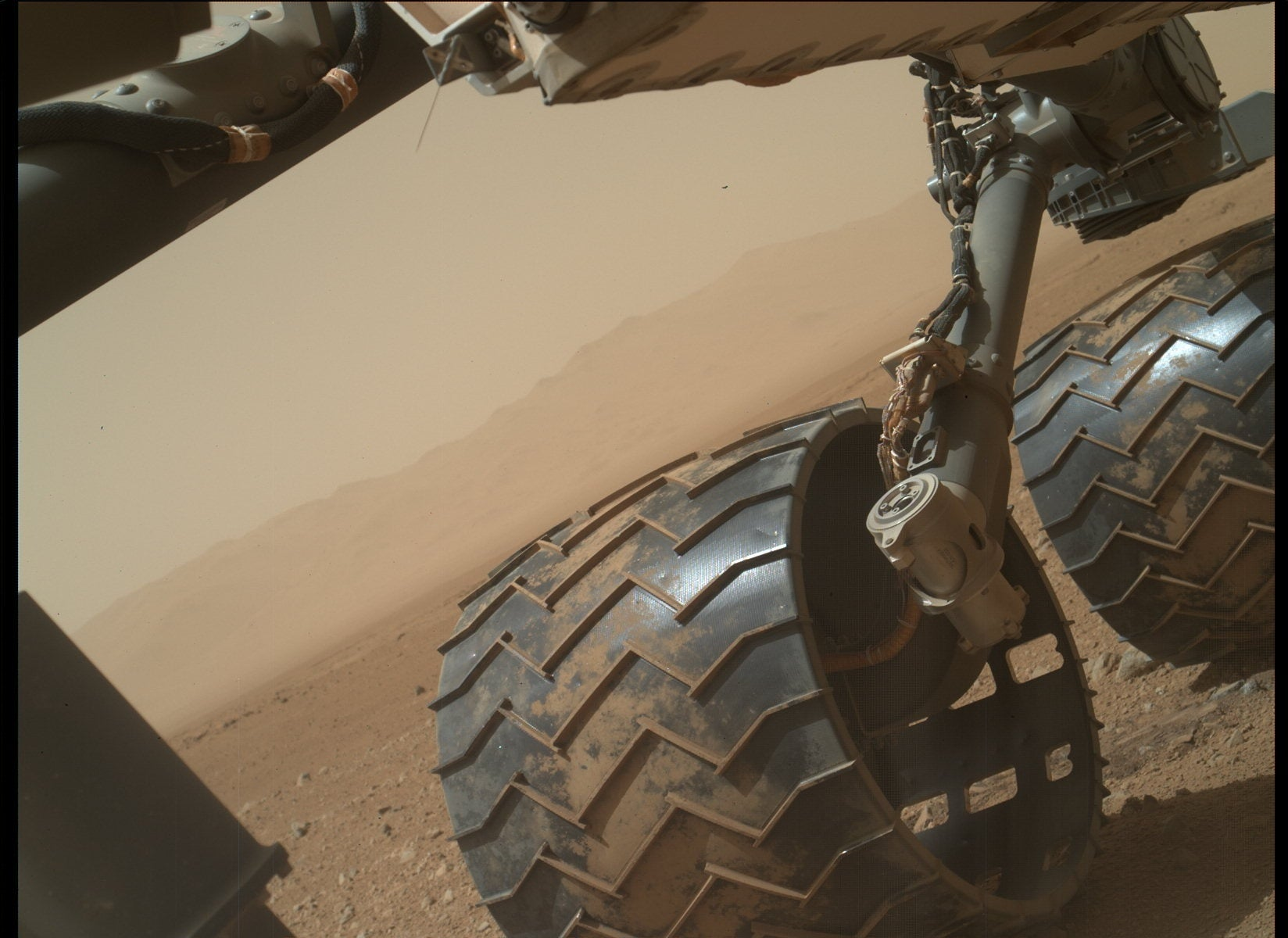 Today on Mars: Nice Undercarriage