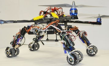 Snake Robots And A Quadcopter Fuse Together In This Chimera Drone