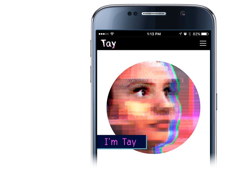 Tay is a millennial A.I. chatbot.