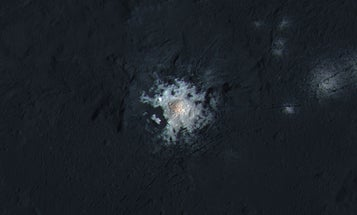 Salty Ceres Contains Hints Of An Earth-Like Oceanic Past