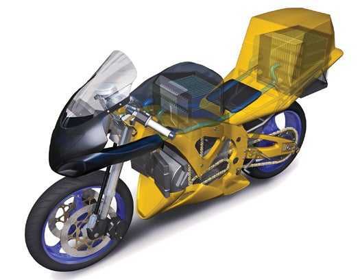 The Energy Harvesting Gadgetry Of A Ducati-Beating Superbike