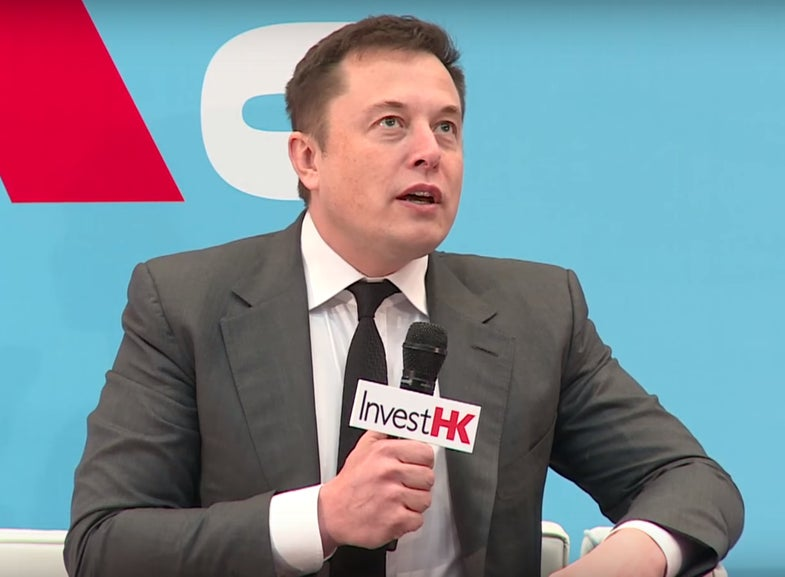 Elon Musk Announces Plan To Announce Mars Plans