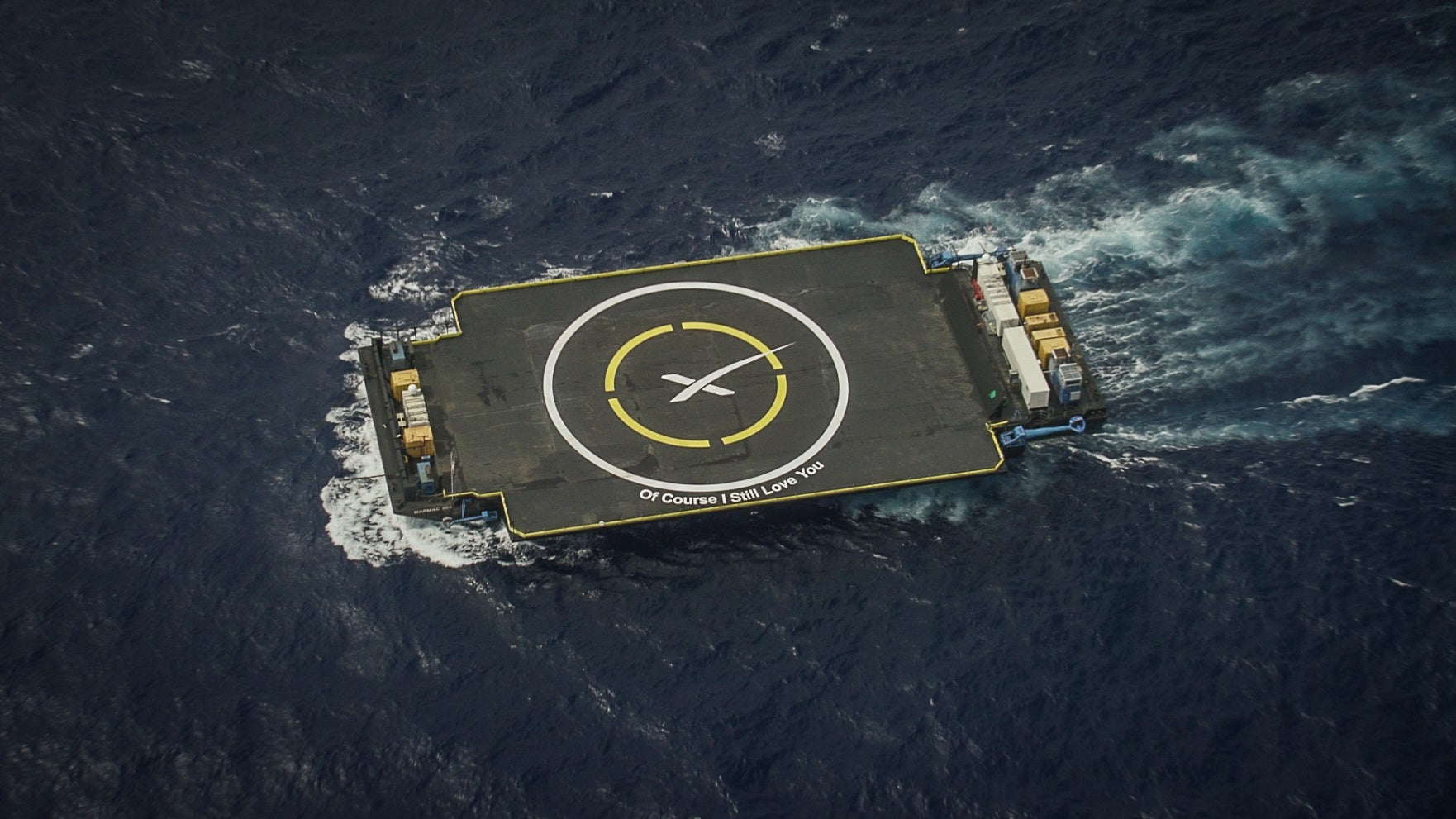 SpaceX To Attempt Landing A Rocket On A Moving Drone Platform