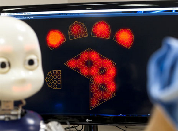 Watch This Childlike Humanoid Robot Begin To Comprehend Language