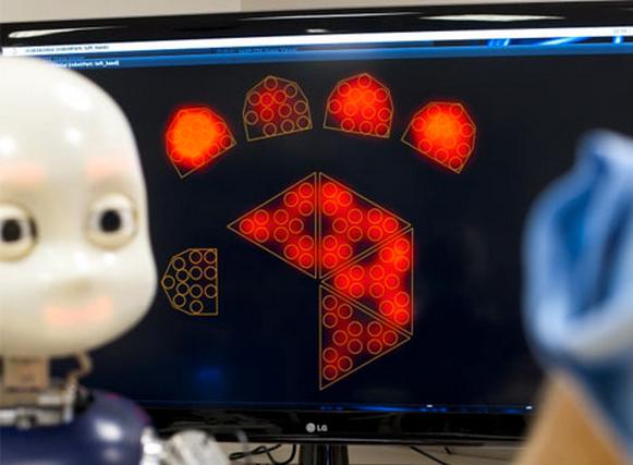 Watch This Childlike Humanoid Robot Begin To Comprehend Language