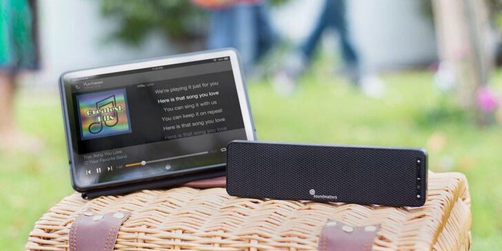DASH A Slim Portable Speaker