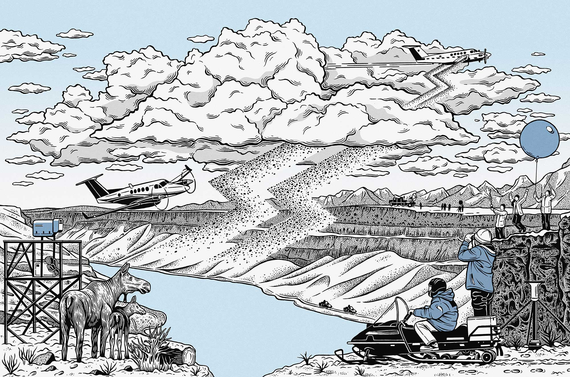 As drought looms, could this team of scientists prove cloud seeding works?
