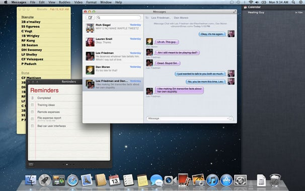 """Apple's New Mac OS, """"Mountain Lion,"""" Is a Head-On Collision of Mac OS and iOS"""
