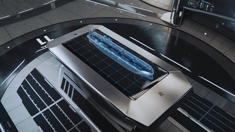 Land Based Control Center For Autonomous Ship Concept Art