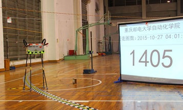 Chinese Walking Robot Sets Distance Record