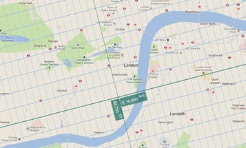 New Map Imposes New York City Grid System on the World