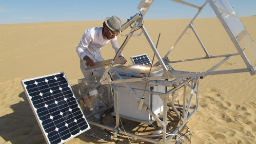 Video: Solar Sinter Project Turns the Desert's Free Abundance of Sand and Sun into 3-D-Printed Glass